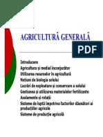 Agricultura generala