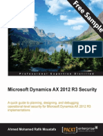 Microsoft Dynamics AX 2012 R3 Security - Sample Chapter