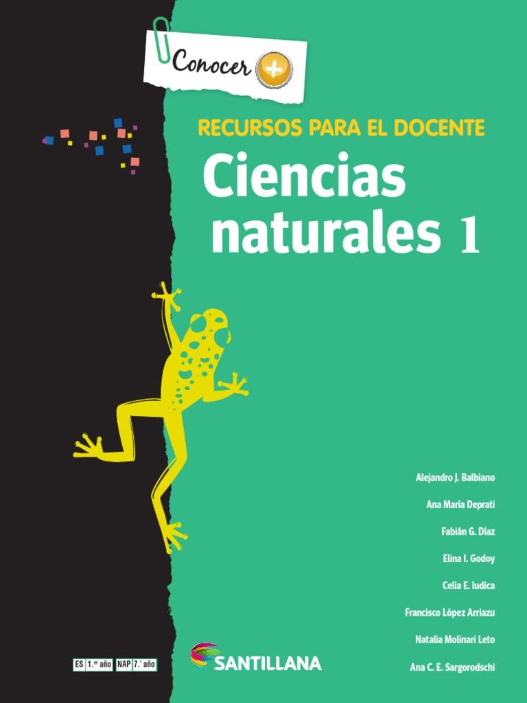 Ciencias naturales 1 eso santillana pdf