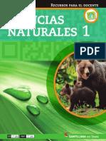 Ciencias Naturales 1 en Linea GUIA DOCENTE