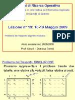ottimizzazione 2009