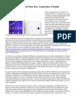 Xiaomi Mi Note Y Mi Note Pro, Conocelos A Fondo