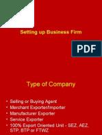 V Set Up Company -Law & Procedure