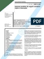 NBR 8160 - Esgoto Sanitário.pdf