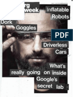 BusinessWeek June 2013 on Google X Lab