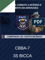 Táticas de Combate a Incêndio e Salvamento Em Aeronaves CBBA 22