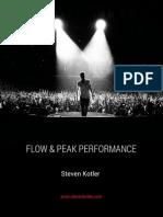 Steven Kotler - Flow&Peak Performance