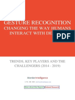 Gesture Recognition - Changing the Way Humans Interact With Devices - Forecasts - Trends, Key Players and the Challengers (2014-2019)