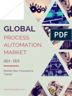 Global Process Automation Market By Type, Application, Industries And Geography Market Size, Forecasts And Trends (2014 - 2019)