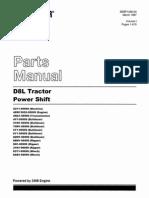 Manual de partes tractro D8L