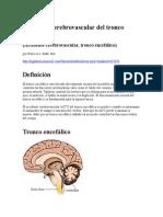 Accidente Cerebrovascular Del Tronco Encefálico