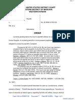 Lindsey v. FBI et al - Document No. 7