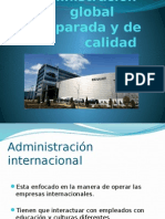 Cap 3 Administracion Global Comparada y de Caliodad