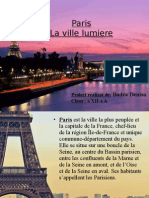 Paris la ville lumiere-proiect franceza (prezentare)