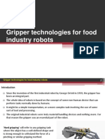 4Gripper Technologies for Food
