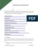 LIRA - Task Sheet