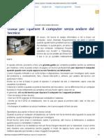 Guida Per Riparare Il Computer Senza Andare Dal Tecnico _ Pom-HeyWEB!
