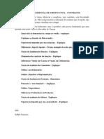 Questões - Prova Regimental de Direito Civil 1-2015
