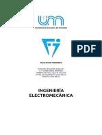 Ingenieria Electromecanica unam