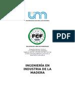 Ingenieria en Industria de La Madera unam