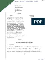 Frantzen et al v. Slater et al - Document No. 4
