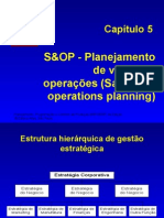 Cap 05 S&OP Sales and Operations Planning