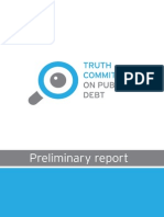 June 18, 2015 | Preliminary Report of the Truth Commission on Greek Public Debt