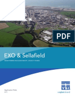 Sellafield and EXO Water Quality Monitoring Nuclear Waste Legacy Ponds