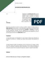 Silicosis en Construcion Civil
