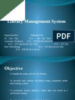 Library Management System (Presentation)