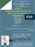 Tema 5. Toma de Decisiones 2015-1