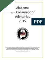 2015 Alabama Fish Consumption Advisories