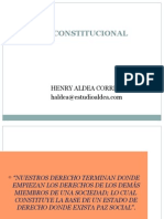 Diapositivas de Derecho Constitucional General