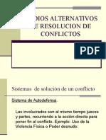 2 Mecanismos Alternativos de Solución de Conflictos
