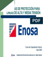 Presentación Sistemas de Protección Para Líneas de at y MT