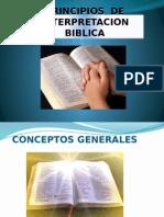 Metodos de Estudio y Principios de Interpretacion Biblica