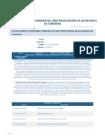 Perfil Competencia Operario de Linea Procesadora de Alcachofas en Conserva