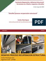 Desafios Proceso Recuperacion Estructural Carlos Henriquez Sika