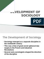 Sociology Into