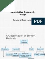 Descriptive Research Design