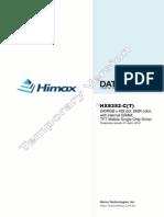 Himax HX8352 Spec