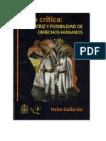 Helio Gallardo. Fundamento y efectividad de los Derechos Humanos, de Teoría Crítica. Extracto..pdf