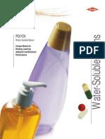 polyox pdf | Solubility | Thermoplastic