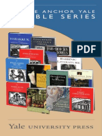 Yale University Press Anchor Yale Bible Series 2015 Catalog
