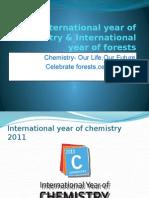 International Year of Chemistry & International Year Of