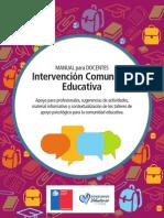 Manual Para Docentes - Intervención Comunidad Educativa