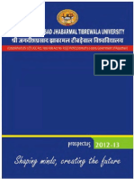 Prospectus Jjtu