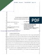 (PC) Godina-Carrillo v. Corporation Correctional of America, et al. - Document No. 1