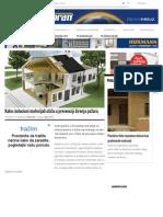 Kako Izolacioni Materijali Utiču u Prevenciji Širenja Požara ‹ Gradnja