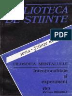 Angela Botez - Filosofia mentalului~ Intentionalitate si experiment.pdf